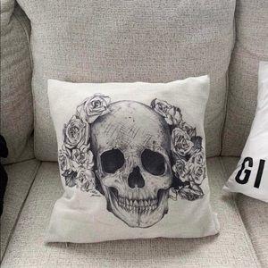 skull pillow case cover